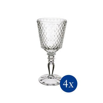 Boston Flare red wine glass, 4 pieces