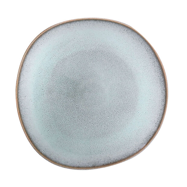 Lave Glacé dinner plate, turquoise, 28 x 28 x 2.7 cm, , large
