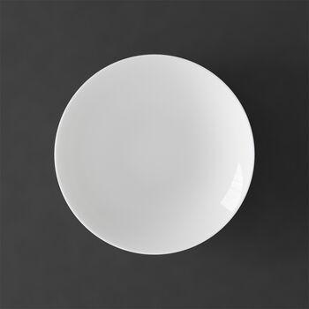 MetroChic blanc soup plate, 20 cm diameter, 5 cm deep, white