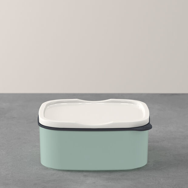 ToGo&ToStay lunch box, 13 x 10 x 6 cm, rectangular, mint green, , large