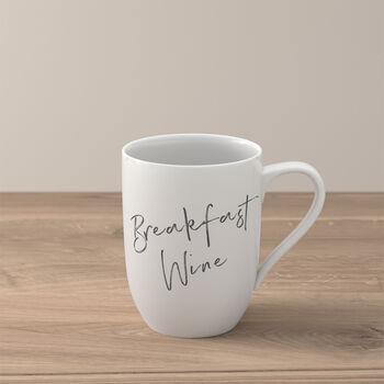 "Statement mug ""Breakfast Wine"""