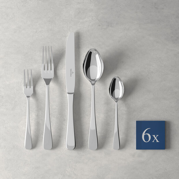 Leandra table cutlery 30 pieces, for 6 people, , large