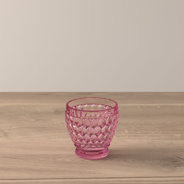Boston Coloured Shot glass Pink, , large