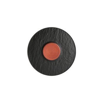 Manufacture Rock Glow espresso cup saucer, copper/black, 12 x 12 x 2 cm