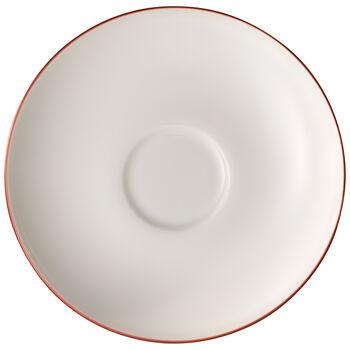 Anmut Rosewood tea cup saucer