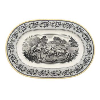 Audun Ferme Oval platter  34cm
