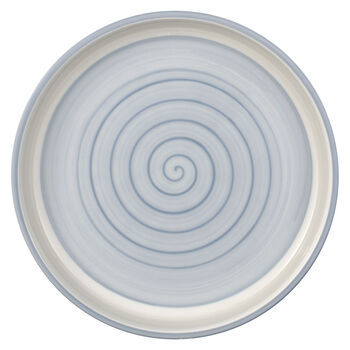 Clever Cooking Blue round serving plate 26 cm