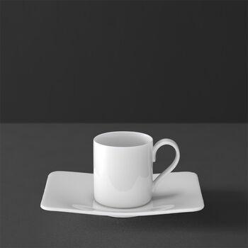 Modern Grace Espresso cup & saucer 2pcs