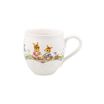 Spring Fantasy mug, flower meadow, 530 ml