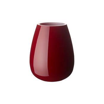 Drop small vase Deep Cherry