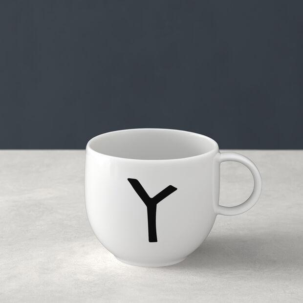 Letters Mug Y 13x10x8cm, , large