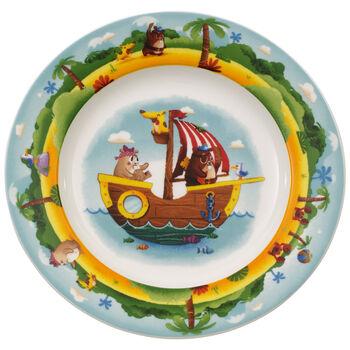 Chewy's Treasure Hunt Flat children's plate