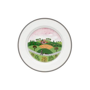 Design Naif breakfast plate Huntsman
