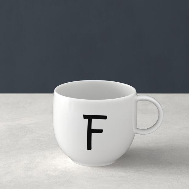 Letters Mug F 13x10x8cm, , large