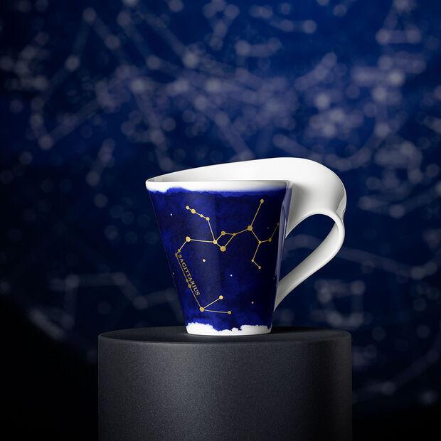 NewWave Stars mug Sagittarius, 300 ml, blue/white, , large