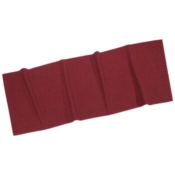 Textil Uni TREND Runner bordeaux 50x140cm