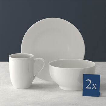 For Me breakfast set for two 6 pieces
