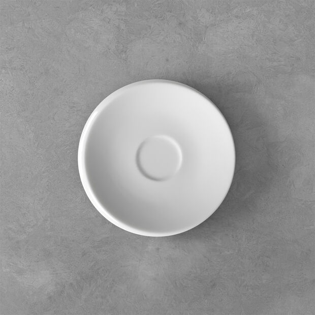 NewMoon espresso cup saucer, white, , large