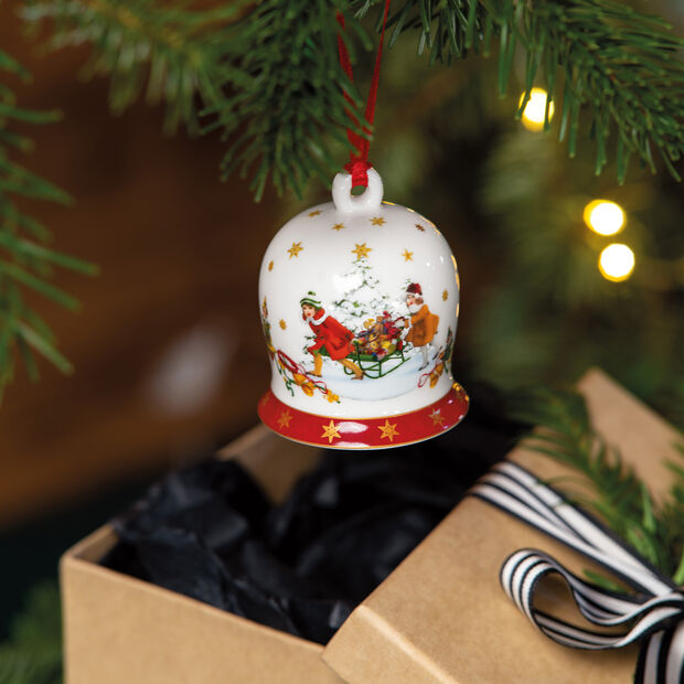 Annual Christmas Edition Bell 2021 6x6x7cm, , large