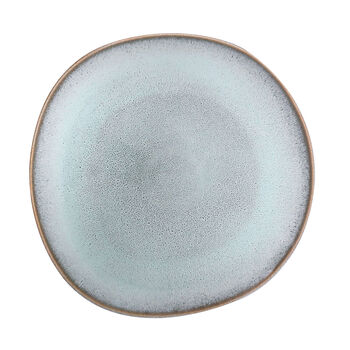 Lave Glacé dinner plate, turquoise, 28 x 28 x 2.7 cm