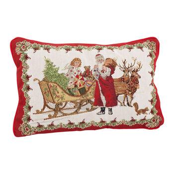 Toy's Fantasy Gobelin reversible cushion, multicoloured, 32 x 48 cm