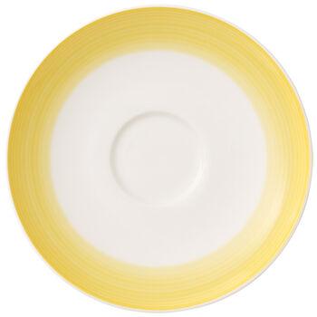 Colourful Life Lemon Pie coffee cup saucer