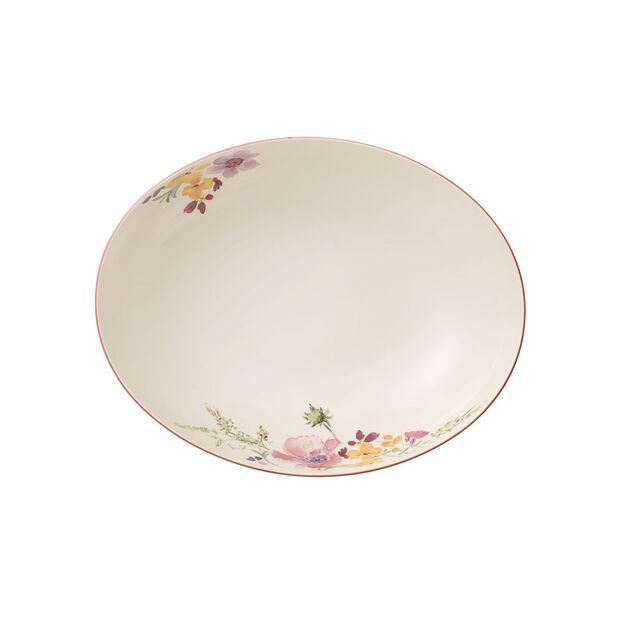Mariefleur Basic oval serving bowl 26 cm, , large