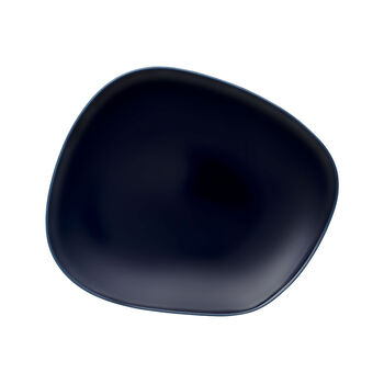 Organic Dark Blue dinner plate 28 x 24 x 3cm