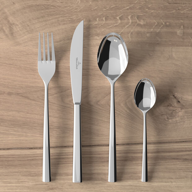 Piemont table cutlery 4 pieces, , large