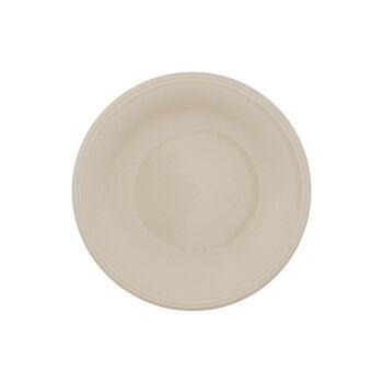 Color Loop Sand breakfast plate 21 x 21 x 2cm