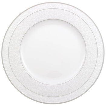 Gray Pearl dinner plate