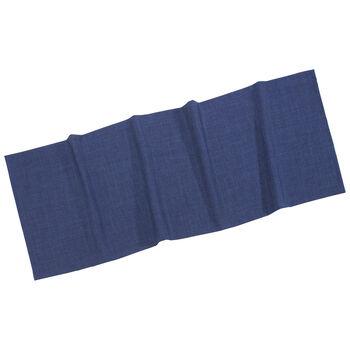 Textil Uni TREND Runner d'blue 50x140cm