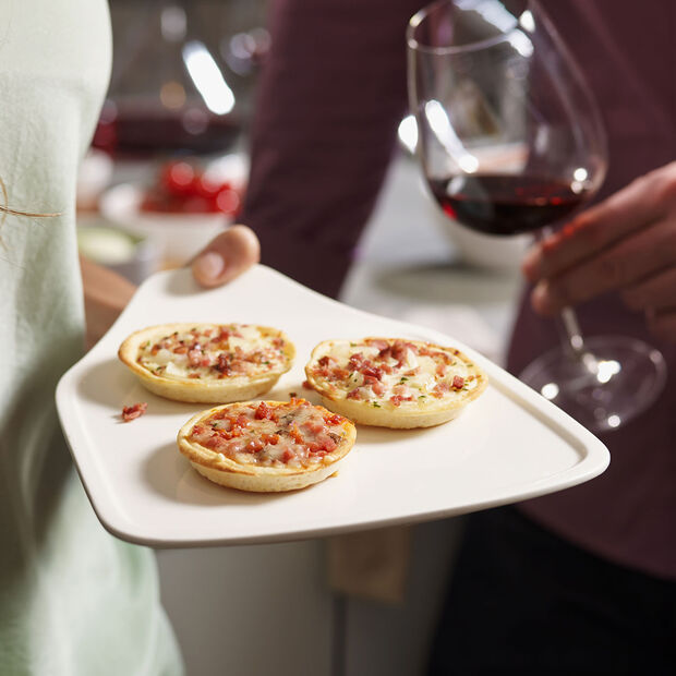 Pizza Passion Pizza slice plate Set 2 pcs. 24,5x19,5cm, , large