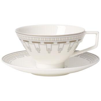 La Classica Contura Tea cup & saucer 2pcs