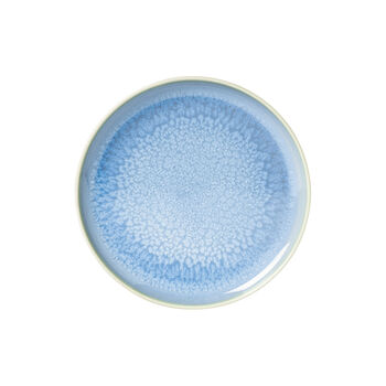 Crafted Blueberry breakfast plate, turquoise, 21 cm