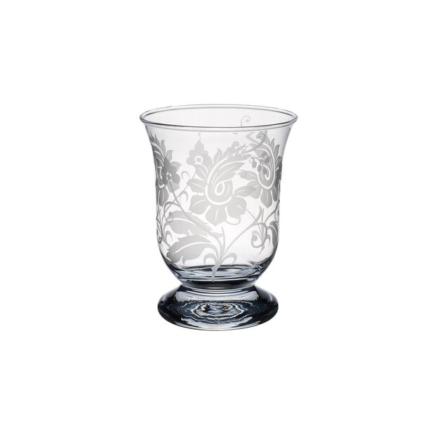 Helium with flower ornament Hurricane lamp 155mm, , large
