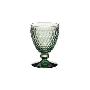 Boston Coloured Water glass Green
