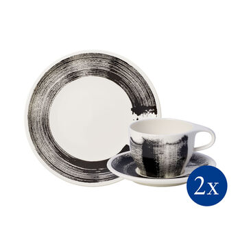 Coffee Passion Awake breakfast set, 6 pieces, for 2 people