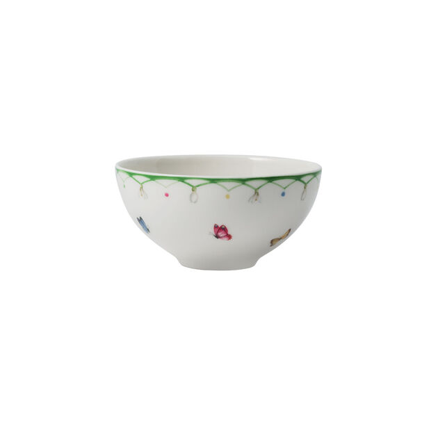 Colourful Spring small bowl, white/green, , large