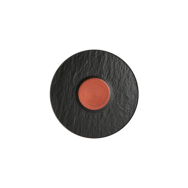 Manufacture Rock Glow espresso cup saucer, copper/black, 12 x 12 x 2 cm, , large