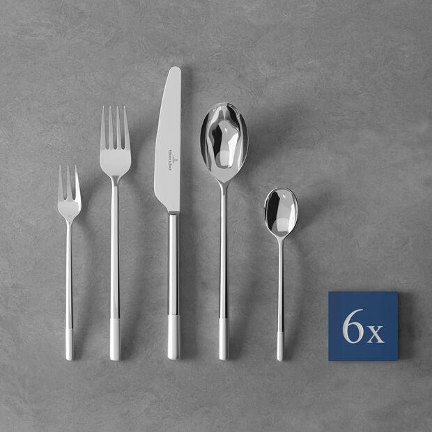 Ella satin Cutlery set 30pcs 42x27x5cm, , large