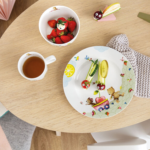 Hungry as a Bear Children flat plate 220x220x26mm, , large