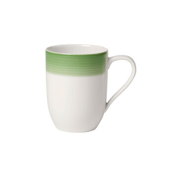 Colourful Life Green Apple coffee mug