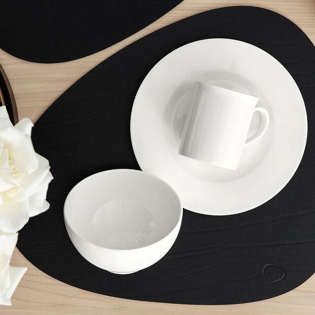 Twist White breakfast plate, , large