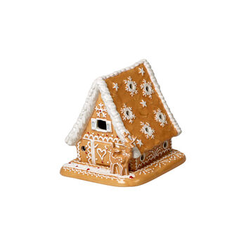 Winter Bakery Decoration Gingerbread House 15x13x14cm