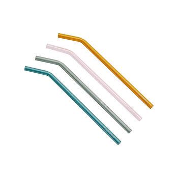 like.by Villeroy & Boch Artesano Hot&Cold Beverages Glass straw set 5pcs.