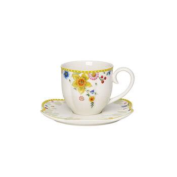 Spring Awakening coffee cup and saucer, 260 ml