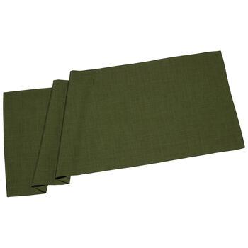 Textil Uni TREND Runner d.green 50x140cm