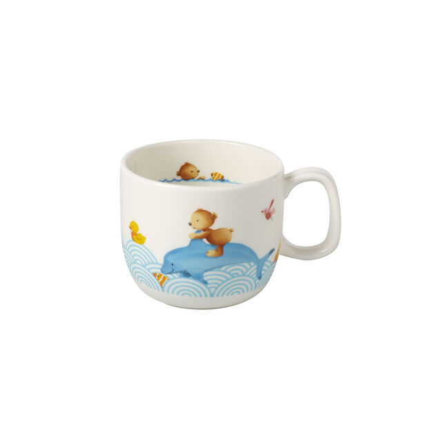 Happy as a Bear Children mug with 1 handle small 110x80x70mm, , large