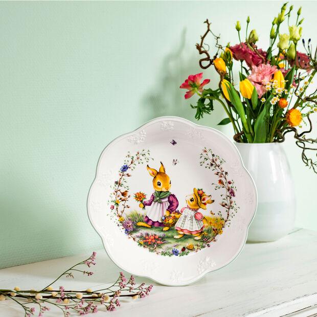 Spring Fantasy large bowl, flower meadow, 670 ml, , large